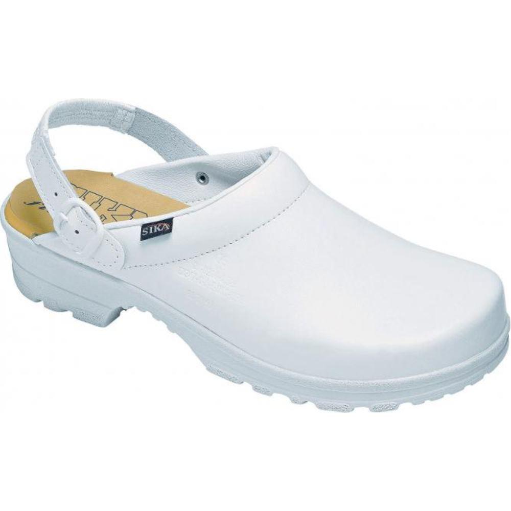 Sika Footwear Clog Elbe  EN ISO 20347 weiß Größe  041