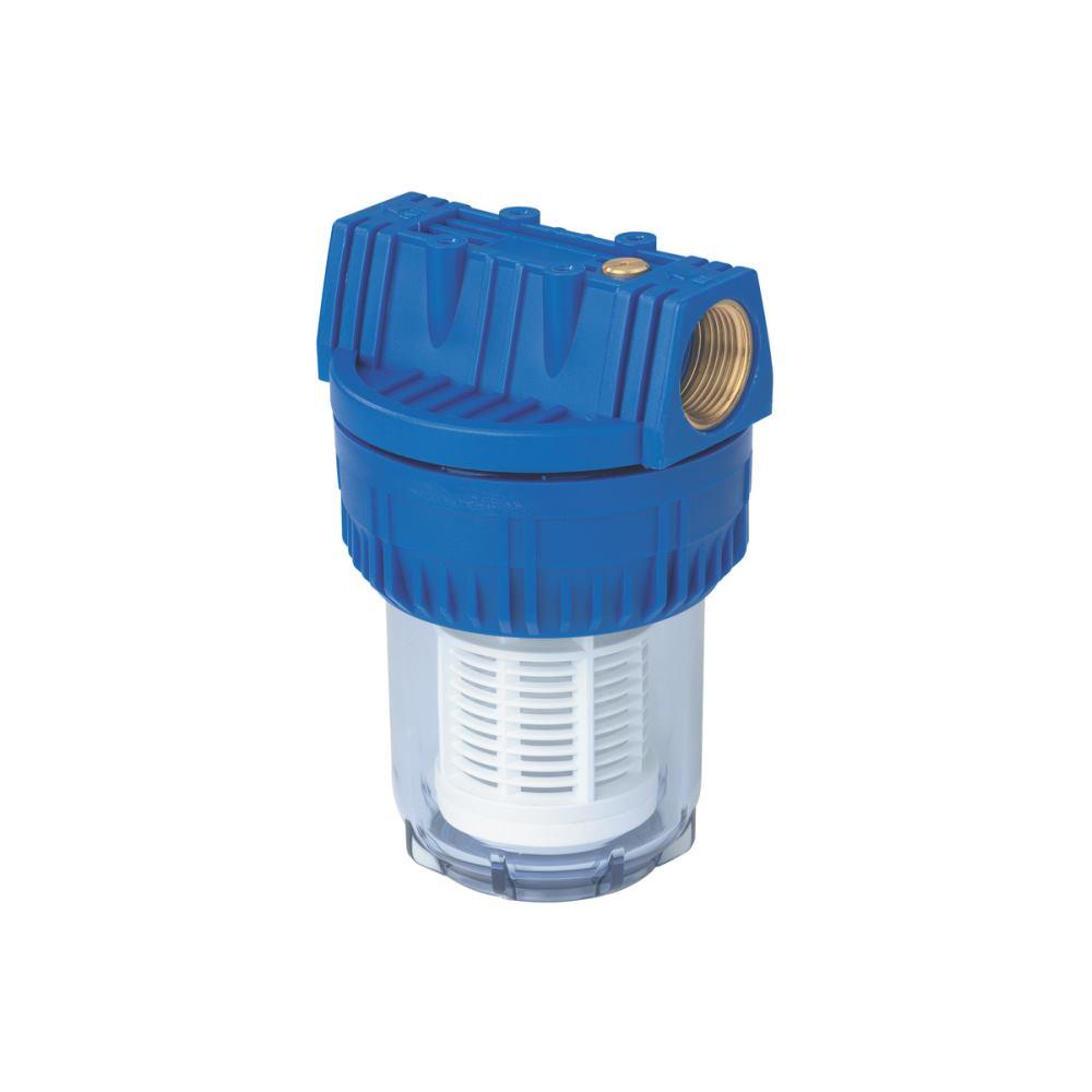 Filter für Gartenpumpen 1 1/4 kurz, mit waschbare m Filtereinsatz ()