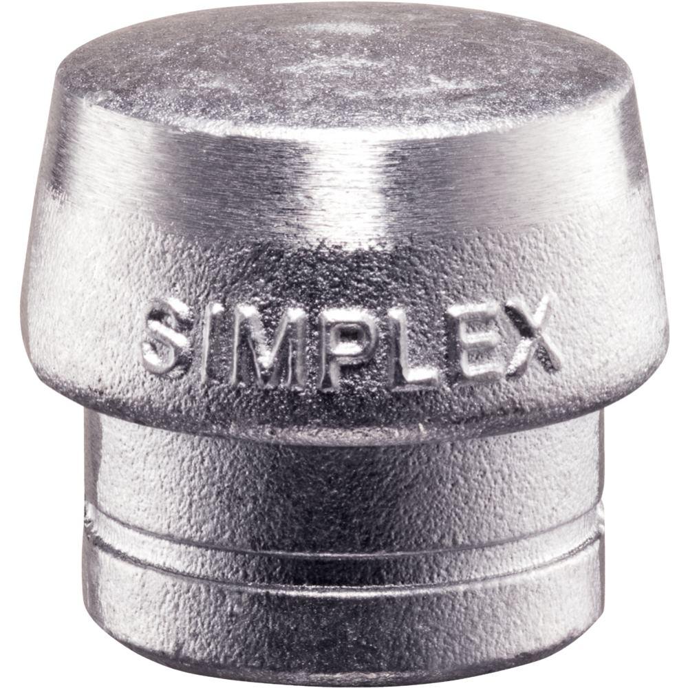 SIMPLEX Einsatz aus Weichmetall silber 40 mm Durc