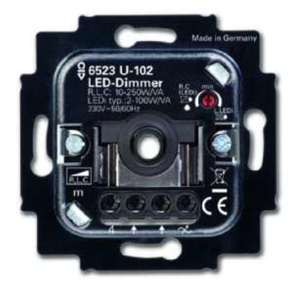 BUSCH-JAEGER 6523 U-102 LED-Dim. 2D AN 250 VA 02023750