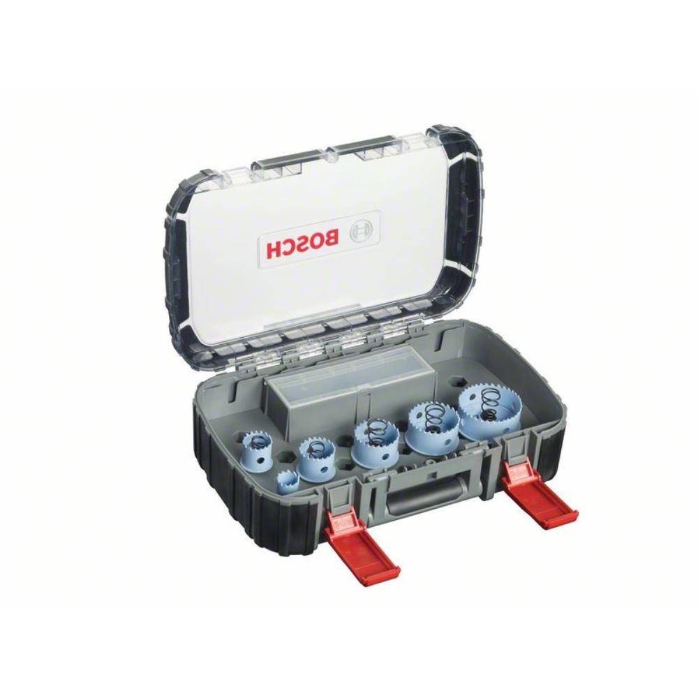 Bosch Lochsägen-Sanitär-Set, Sheet Metal, 9-teilig, 20 -  64 mm