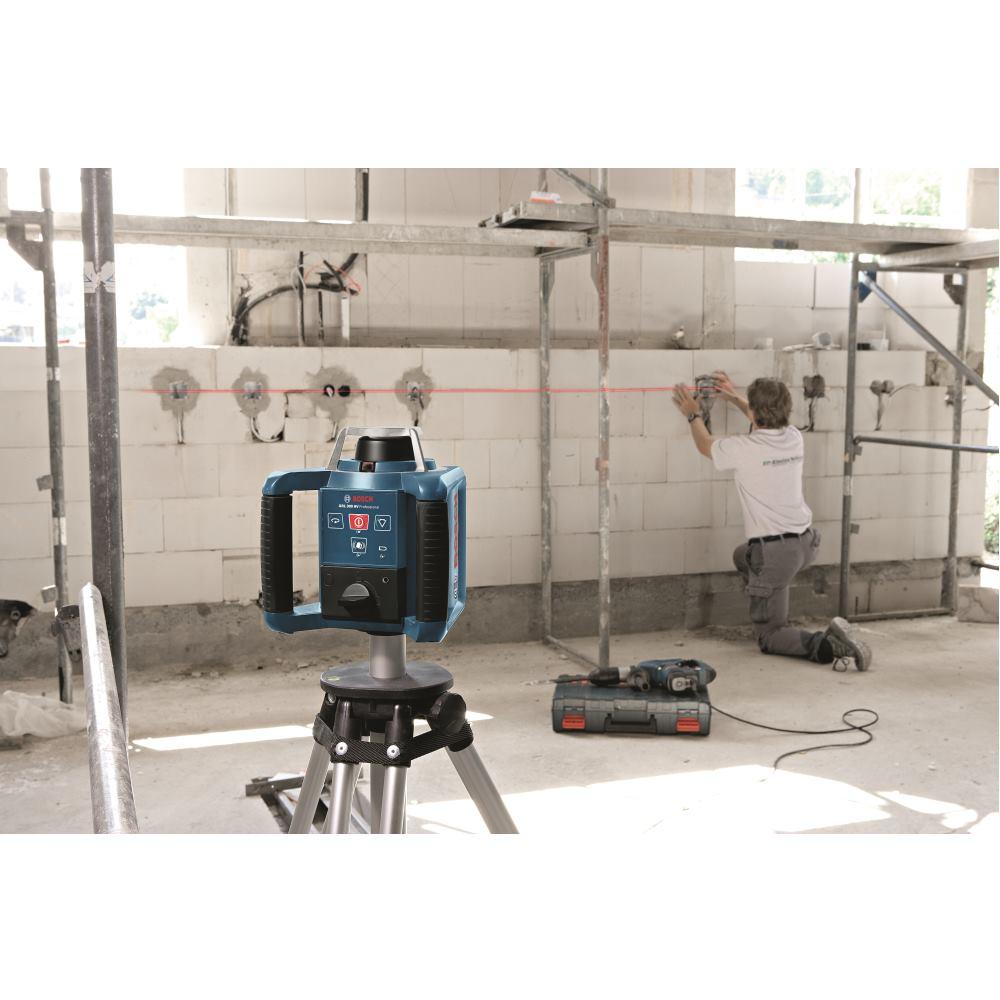 bosch rotationslaser grl 300 hv mit baustativ bt 300 hd. Black Bedroom Furniture Sets. Home Design Ideas
