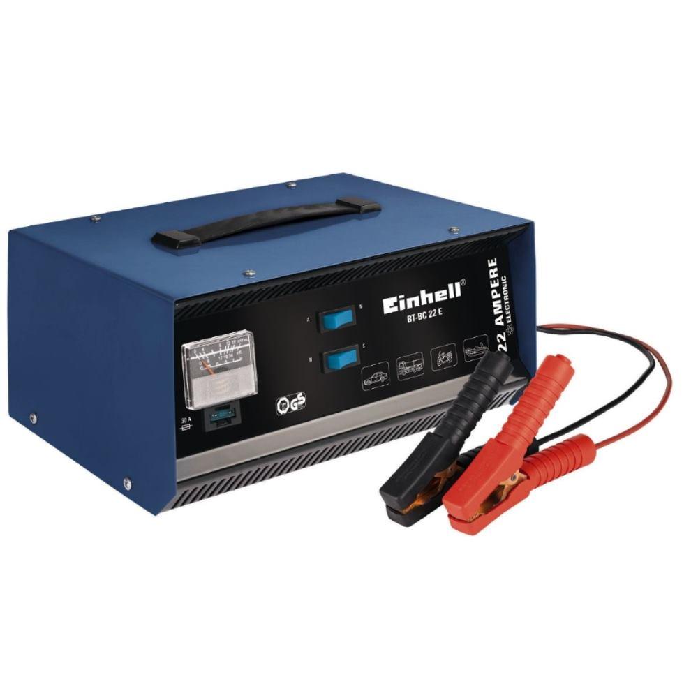 EINHELL BT-BC 22 E Batterie-Ladegerät