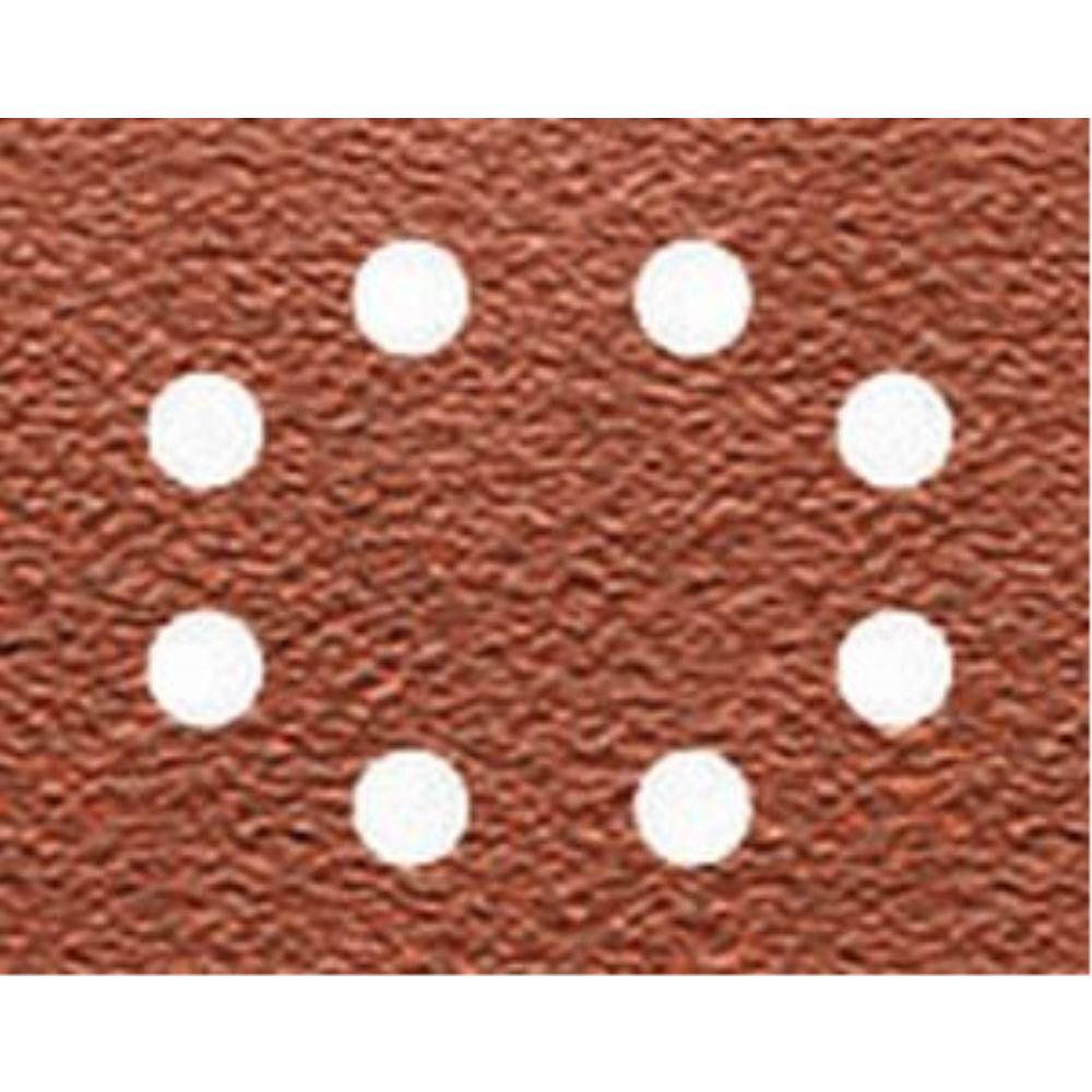 DeWalt Schleifpapier 115 x 140mm K150, Mehrzwe DT3005 arbe - Trockenschliff - gelocht (8 Loch ringförmig DT3005-QZ
