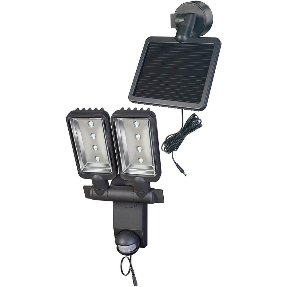 Brennenstuhl Solar LED-Strahler Duo Premium SOL SV0805 P2 IP44