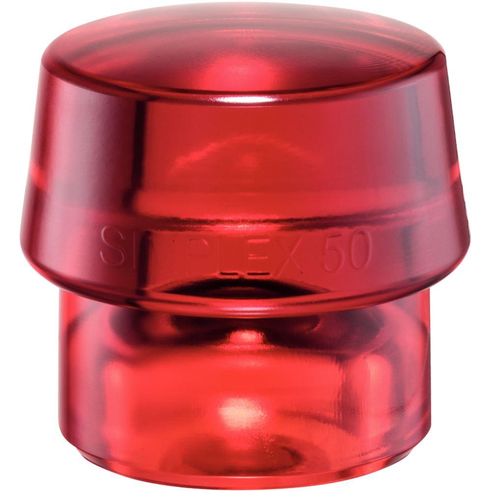 SIMPLEX Einsatz aus Plastik rot 50 mm Durchmesser