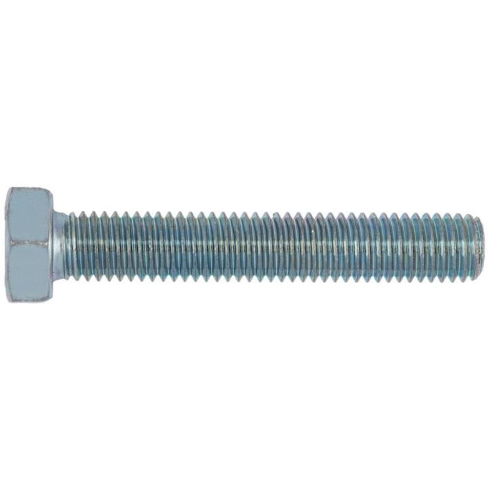 Sechskantschraube mit Gewinde bis Kopf ISO 4017 St ahl 10.9 verzinkt  M8 x 18   200 Stück