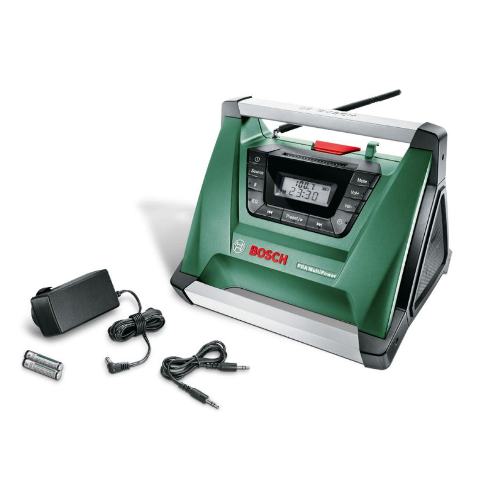 Akku-Radio PRA MultiPower, (ohne Akku und Ladegerät)