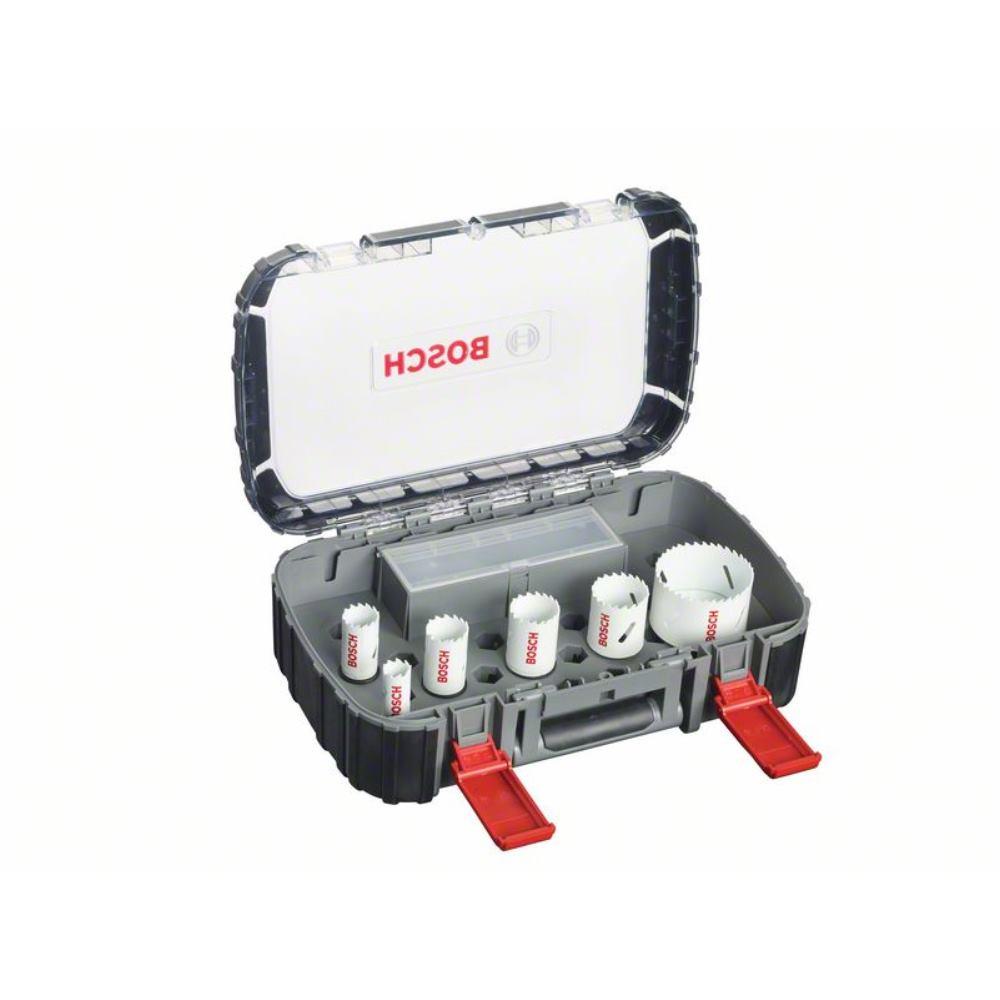 Bosch Lochsägen-Sanitär-Set, Progressor, 9-teilig, 20 -  64 mm