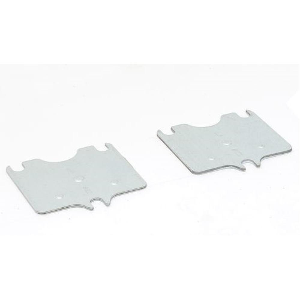 Unterlegbleche, für Palettenregale, Materialstärke  4 mm, 150 x 105