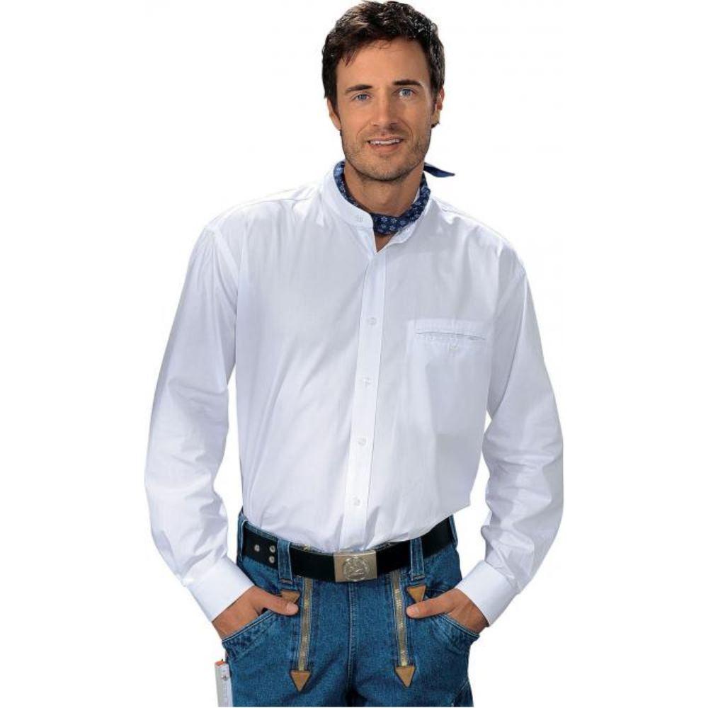 Liam Grandfathershirt weiß | XL