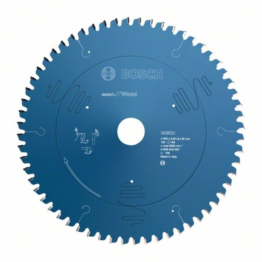 BOSCH Ø 250 x 30 x 2,5 mm Kreissägeblatt Expert für Holz