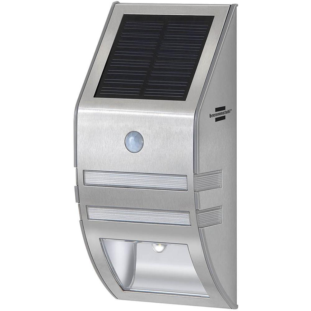Brennenstuhl Solar LED-Wandleuchte SOL WL 02007 2xLED 30lm Farb