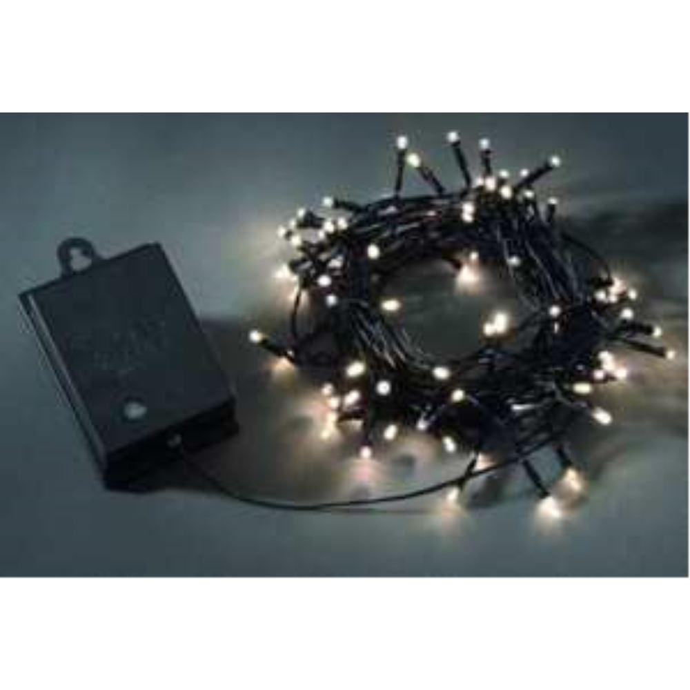 KONSTSMIDE 3728-100 LED Außenkette 80tlg. Batt.