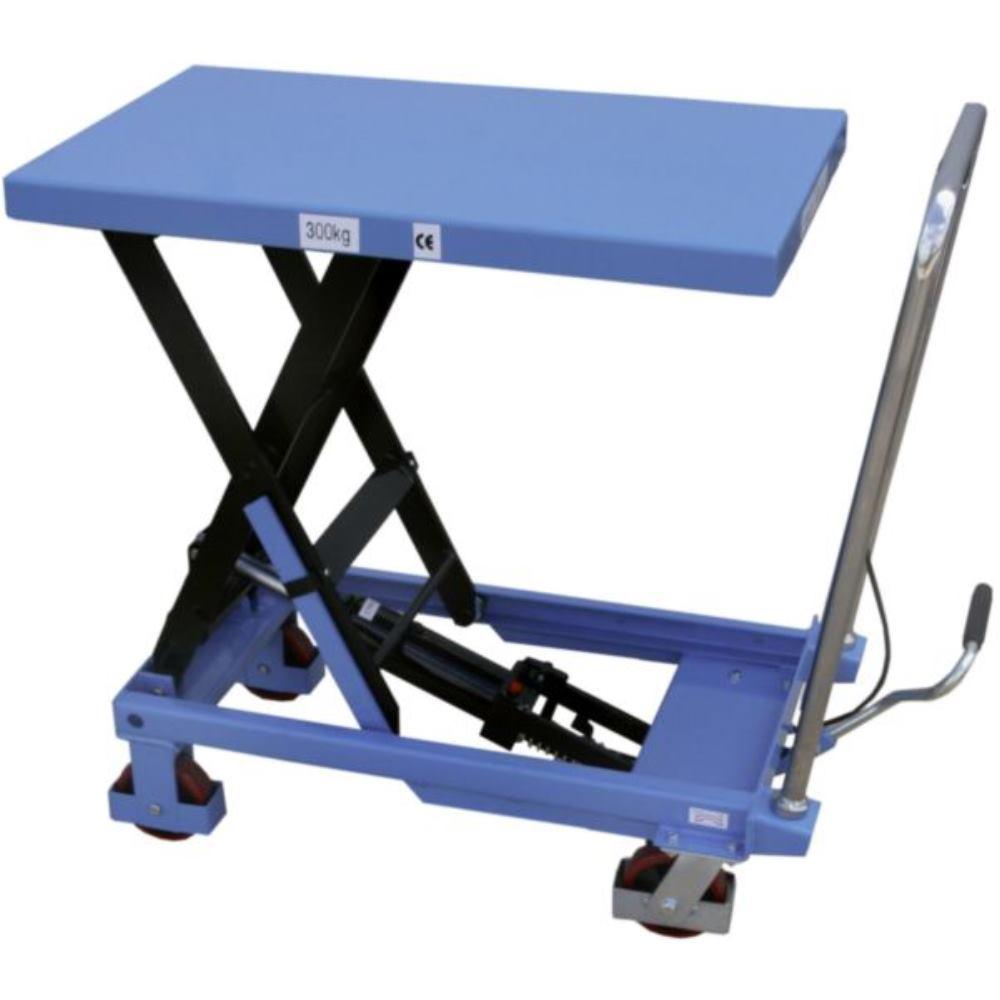 hausmarke scheren hubtischwagen fahrbar 500 kg traglast. Black Bedroom Furniture Sets. Home Design Ideas