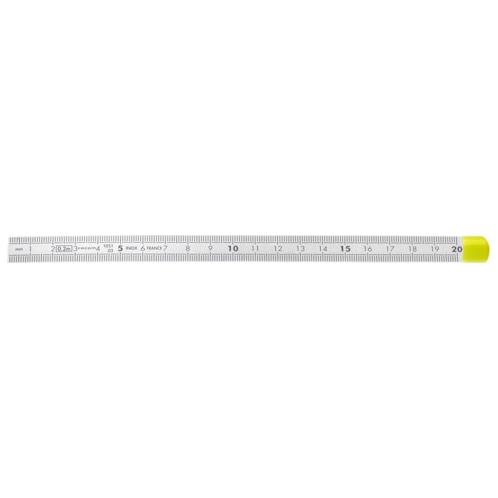 ORION Maßstab aus Federbandstahl Länge 1000 mm nichtros