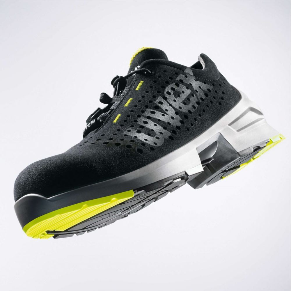 Uvex 2 Xenova Perforados Zapatos de Seguridad para Hombre