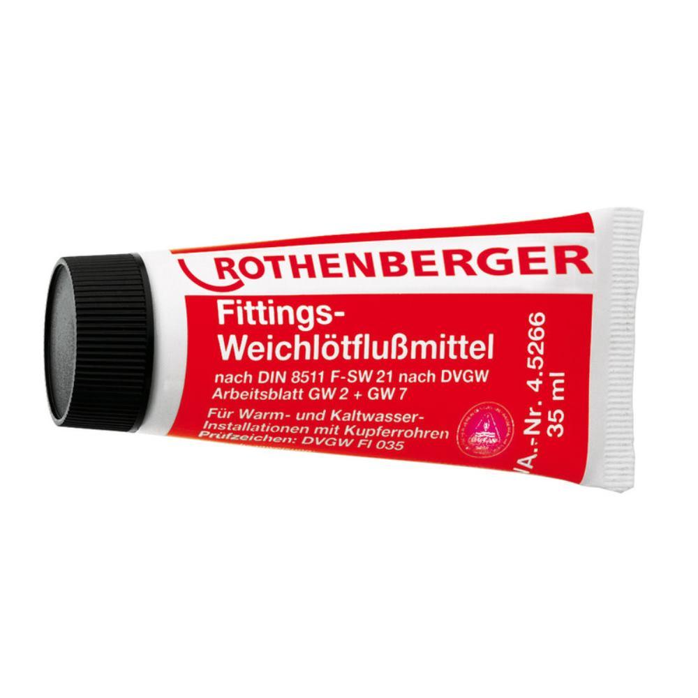 Rothenberger Fittings-Weichlötflussmittel, 35ml Tube | svh24.de