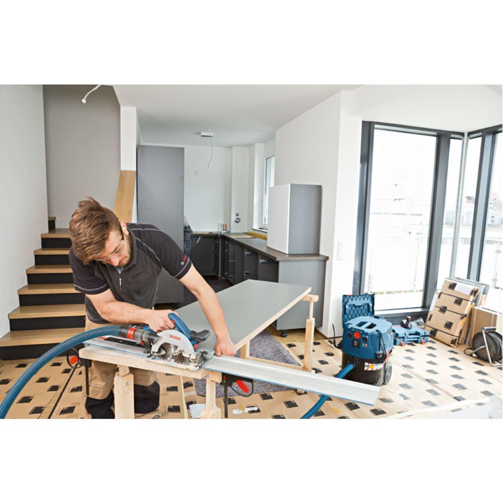 bosch akku kreiss ge gks 18v 57 g mit 2 x 5 0 ah akku l boxx f hrungsschiene 3165140869287 ebay. Black Bedroom Furniture Sets. Home Design Ideas