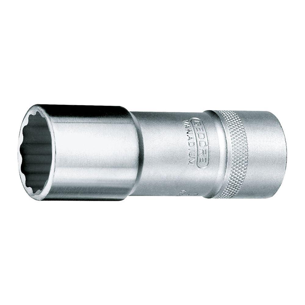 """GEDORE 1/""""Zoll Steckschlüsseleinsatz Ø  36 mm DIN 3124 Doppelsechskant"""