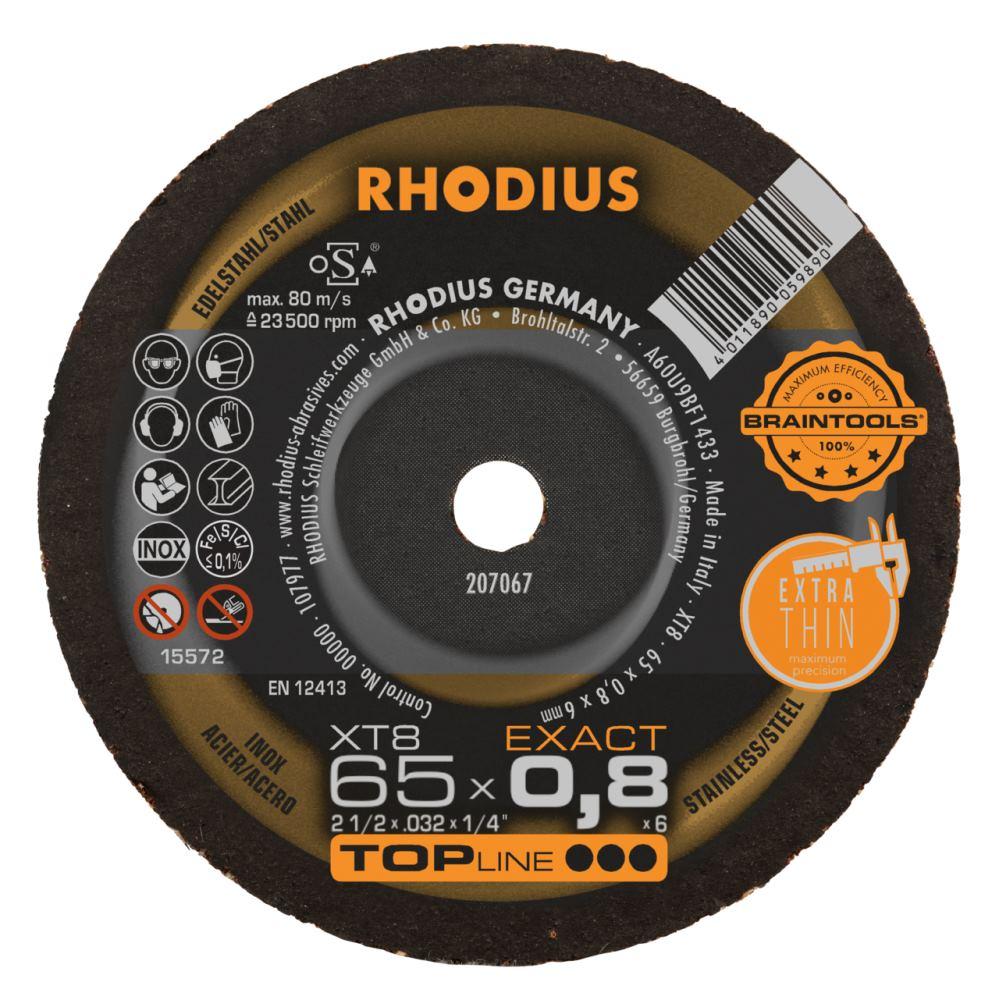 Rhodius Schruppscheibe  KSM  125 x 7,0 x 22,23 mm # 200018