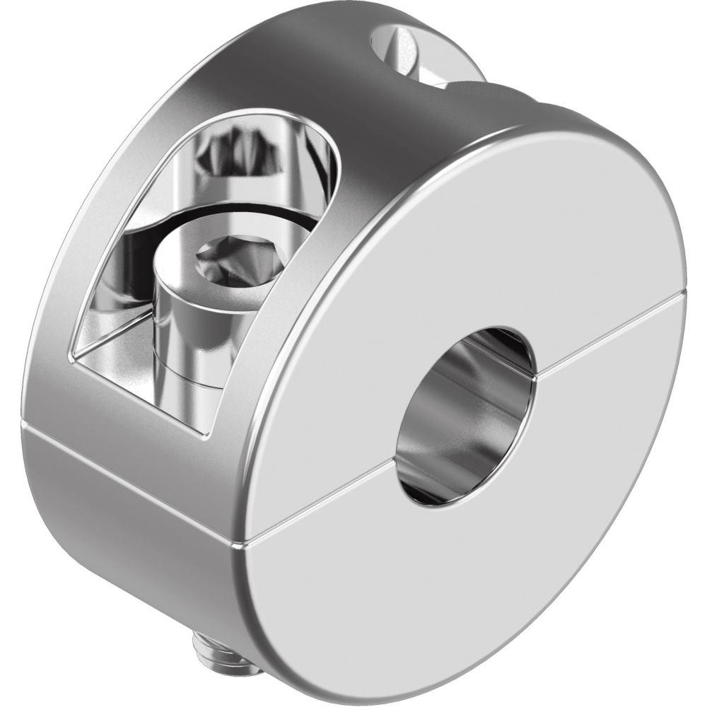 10 Stück Drahtseil-Klemmring zweiteilig - Edelstahl A4 Seil-Ø 2 mm ...