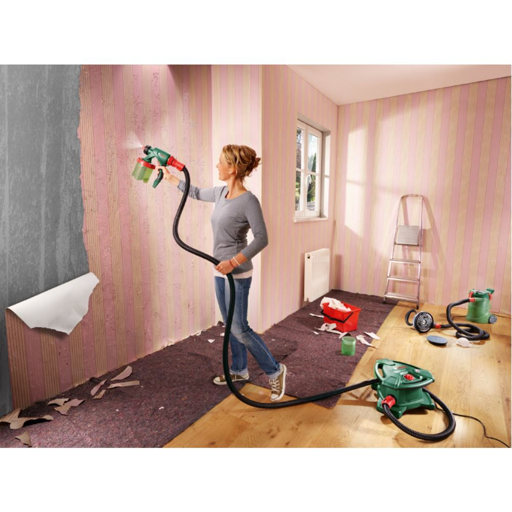 bosch farbspritzpistole farbspr hsystem pfs 5000 e ebay. Black Bedroom Furniture Sets. Home Design Ideas