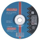 Novoflex 100x6,0x16,0 Stahl, Schruppscheibe, gekrö