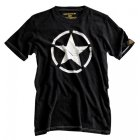 Alpha Industries Star T-Shirt schwarz | L