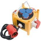 Kompakter Stromverteiler BSV 3 -LS/16 IP44 mit Ans