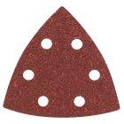 93mm Dreieck Schleifpapier gelocht 5 Stück Korn 120