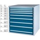 Werkzeugschrank System 700 B, Modell 32/9 GS -