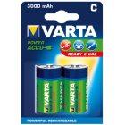 Akku RECHARGEABLE Wiederaufladbar Batterie  POWERBaby Blister 2 Stück 1,2
