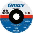 Schruppscheibe für Metall 180x6x22 mm Harte Schei