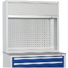 Rollladen-Aufsatzschrank Abmessungen: HxBxT 955 x1022 x 360 mm RAL 7035