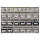 Klappboxenleiste mit Schlauchschellen 414 x 601 x94 mm 460 Teile