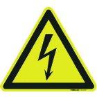 PWZ 10 10St Warnzeichen nach BGV A8 10cm