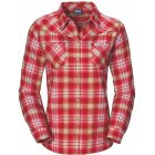 Jack Wolfskin Gifford Flanellbluse Pale Cherry Checks