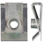 Blechmutter Farblos verzinkt L20,4 mm-M5  300 Stück