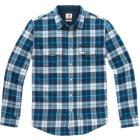 Lee Flanellhemd blau weiß | XL