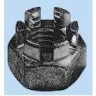 Kronenmutter DIN 937 Stahl verzinkt Feingewinde