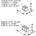 KLEINHUIS 117.G Anschlussklemme 1,0-6,0 mm² Porz.