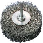 Rundbürste Ø 20 mm mit Schaft 6 mm Gewellte Form