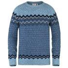 Fjällräven Övik Knit Wollpullover blueberry - GR: L