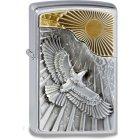 Zippo Feuerzeug Eagle Sun Fly