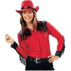 Harvey Hemd rot schwarz | XL