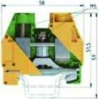 WIELAND ELECTRIC WKI 35 SL / 35/V0 SCHUTZLEITERKL.