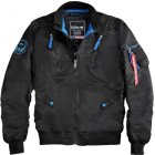 Alpha Industries Falcon II Fliegerjacke schwarz | XXL
