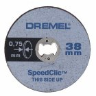 EZ SpeedClic: Dünne Trennscheiben im 5er-Pack.
