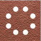 Schleifpapier-Klettfix 115 x 115mm K180 DT3024 -Holz/Farbe - Trockenschliff - gelocht (8 Loch rin